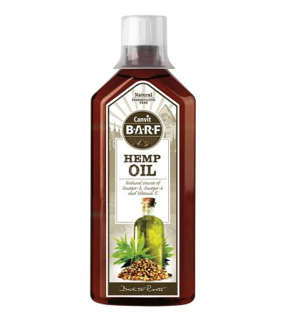 CANVIT - Canvit BARF Hemp Oil 500 ml
