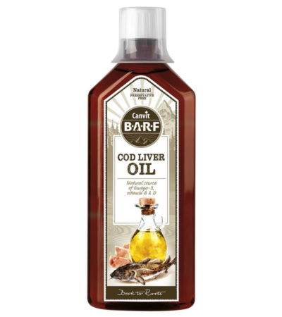 CANVIT - Canvit BARF Cod Liver Oil 500 ml